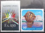 Poštovní známky OSN Ženeva 1987 Palác národů Mi# 152-53