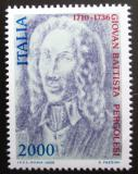 Poštovní známka Itálie 1986 Giovanni Pergolesi, skladatel Mi# 1961