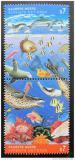 Poštovní známky OSN Vídeň 1992 Čistý oceán Mi# 127-28