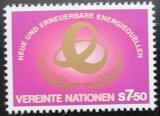 Poštovní známka OSN Vídeň 1981 Zdroje energie Mi# 20