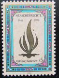Poštovní známka OSN Vídeň 1988 Lidská práva Mi# 87