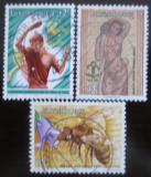 Poštovní známky Lucembursko 1986 Výročí Mi# 1147-49