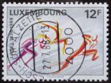 Poštovní známka Lucembursko 1988 Výročí LASEL Mi# 1203