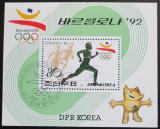 Poštovní známka KLDR 1991 LOH Barcelona Mi# Block 264