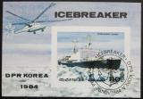 Poštovní známka KLDR 1984 Ledoborec Mi# Block 191