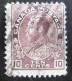 Poštovní známka Kanada 1912 Král Jiří V Mi# 97 A