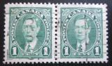 Poštovní známky Kanada 1937 Král Jiří VI., pár Mi# 197 A