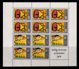 Poštovní známky Nizozemí 1965 Dětské kresby Mi# Block 3 Kat 25€
