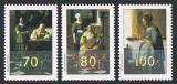 Poštovní známky Nizozemí 1996 Umění, Vermeer Mi# 1563-65