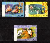 Poštovní známky Nizozemí 1996 Život seniorů Mi# 1571-73