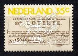 Poštovní známka Nizozemí 1976 Státní loterie Mi# 1063