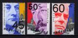 Poštovní známky Nizozemí 1980 Politici Mi# 1151-53