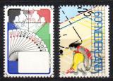 Poštovní známky Nizozemí 1980 Olympijské hry Mi# 1163-64
