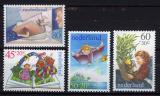 Poštovní známky Nizozemí 1980 Dětské ilustrace Mi# 1171-74