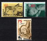 Poštovní známky Nizozemí 1988 Zvířata v ZOO Mi# 1339-41