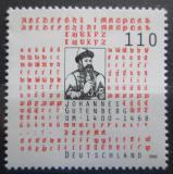 Poštovní známka Německo 2000 Johannes Gutenberg Mi# 2098