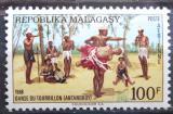 Poštovní známka Madagaskar 1968 Lidový tanec Mi# 593