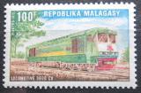 Poštovní známka Madagaskar 1972 Lokomotiva Mi# 656