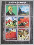 Poštovní známky Čad 2002 Umění, Vincent van Gogh Mi# 2340-45 Kat 10.20€