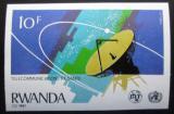 Poštovní známka Rwanda 1981 Parabola neperf. Mi# 1131 B