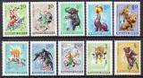 Poštovní známky Maďarsko 1965 Cirkus Mi# 2141-50
