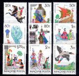 Poštovní známky Maďarsko 1965 Pohádky Mi# 2184-92