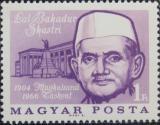 Poštovní známka Maďarsko 1966 Lal Bahadur Shastri, indický premiér Mi# 2211