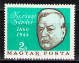 Poštovní známka Maďarsko 1966 Sándor Korányi, lékař Mi# 2253