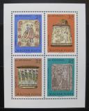 Poštovní známky Maďarsko 1969 Řezbářské umění Mi# Block 73
