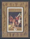 Poštovní známka Maďarsko 1970 Umění Mi# Block 74