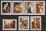 Poštovní známky Maďarsko 1970 Umění Mi# 2633-39