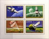 Poštovní známky Maďarsko 1971 Průzkum vesmíru Mi# 2642-45