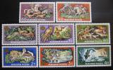 Poštovní známky Maďarsko 1971 Lovecká výstava Mi# 2664-71