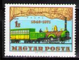 Poštovní známka Maďarsko 1971 Lokomotiva Mi# 2682