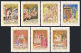 Poštovní známky Maďarsko 1971 Miniatury Mi# 2711-17