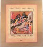 Poštovní známka Maďarsko 1971 Miniatura Mi# Block 85