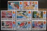 Poštovní známky Maďarsko 1971 ZOH Sapporo Mi# 2720-27