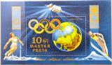 Poštovní známka Maďarsko 1972 Olympijské hry Mi# Block 89