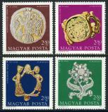 Poštovní známky Maďarsko 1973 Den známek Mi# 2898-2901