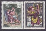 Poštovní známky Francie 1963 Umění Mi# 1426-27