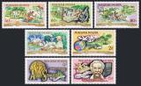 Poštovní známky Maďarsko 1975 Albert Schweitzer Mi# 3014-20