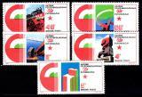 Poštovní známky Maďarsko 1975 Výročí osvobození Mi# 3026-30