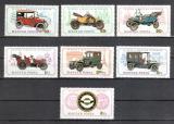 Poštovní známky Maďarsko 1975 Stará auta Mi# 3031-37