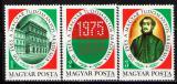 Poštovní známky Maďarsko 1975 Vědecká akademie Mi# 3039-41