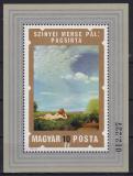 Poštovní známka Maďarsko 1974 Akty, umění Mi# Block 108