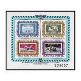 Poštovní známky Maďarsko 1974 Výstava AEROFILA Mi# Block 109
