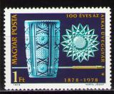 Poštovní známka Maďarsko 1978 Výroba skla Mi# 3283
