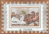 Poštovní známka Maďarsko 1978 Mozaika Mi# Block 134