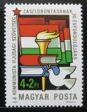 Poštovní známka Maďarsko 1987 Mladí komunisti Mi# 3885