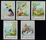 Poštovní známky Maďarsko 1987 Pohádky Mi# 3937-41